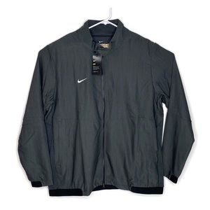 Nike Gray Full Zip Mens Dri-Fit Jacket